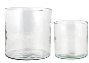 Image of Cylinder Lantern Clear Large