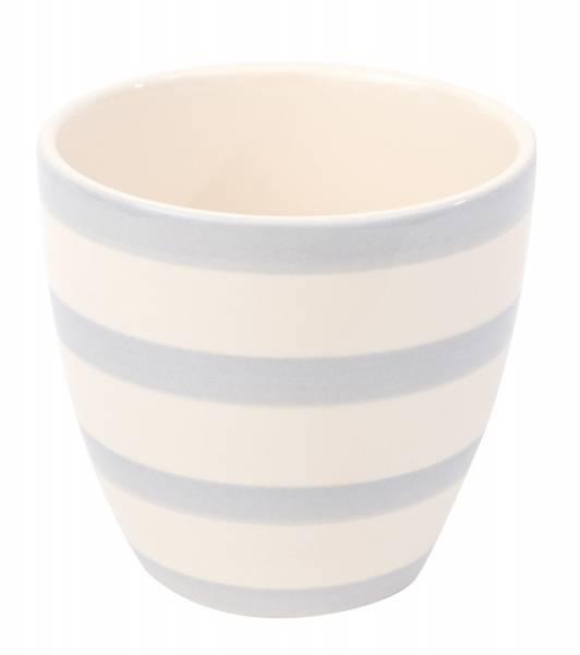 XL Mug Lightblue stripes