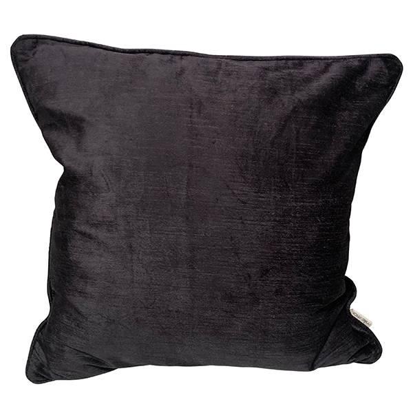 cushion cover velvet slub antrasithe